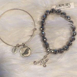 """""""M"""" bracelets"""